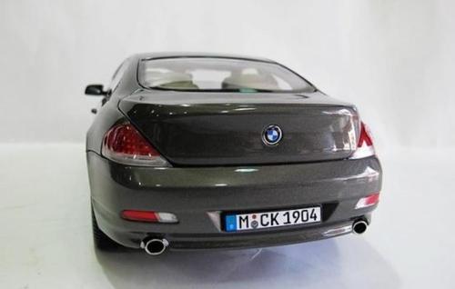 1/18 Dealer Edition BMW 6 Series 2nd Generation (E63/E64; 2003–2010) 640i 645i 650i (Bronze) Diecast Car Model