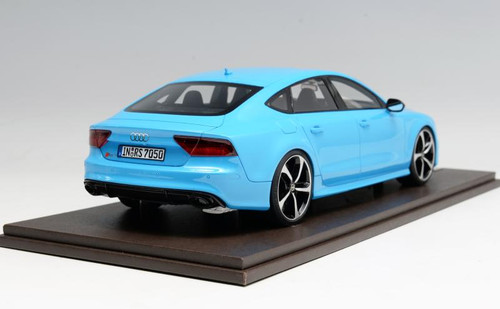 1/18 Motorhelix Audi RS7 (Baby Blue) Resin Car Model Limited 99