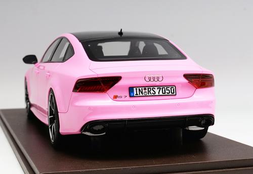1/18 Motorhelix Audi RS7 (Pink) Resin Car Model Limited 50