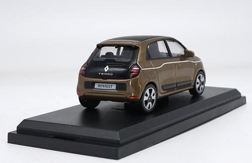 1/43 Norev Renault Twingo (Brown) Diecast Car Model