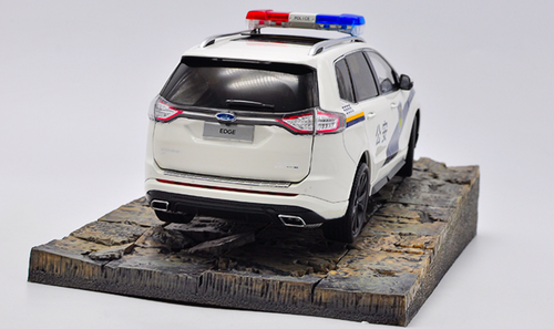 1/18 Dealer Edition Ford Edge Highway Patrol Sheriff Police Car Diecast Car Model