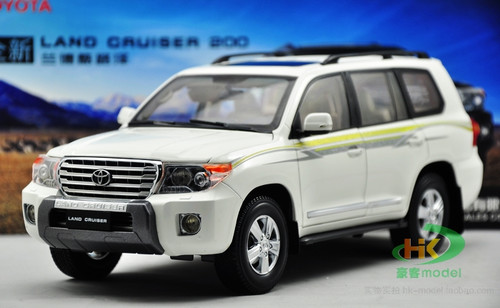 1/18 Dealer Edition Toyota Land Cruiser LC200 (White) Diecast Car Model