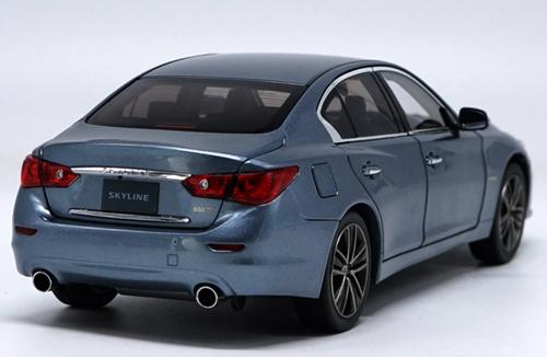 1/18 Dealer Edition Infiniti G35 / Skyline 350GT (Blue) Diecast Car Model