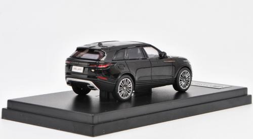 1/64 Dealer Edition Range Rover Land Rover Velar (Black) Diecast Car Model
