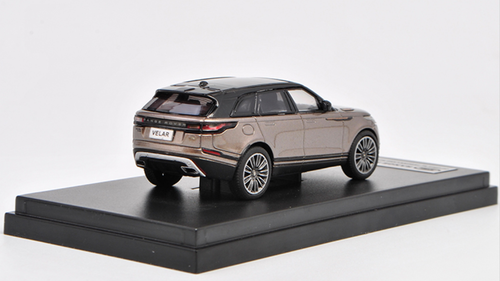 1/64 Dealer Edition Range Rover Land Rover Velar (Bronze) Diecast Car Model
