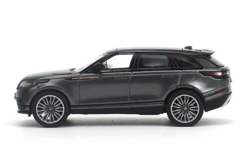 1/64 Dealer Edition Range Rover Land Rover Velar (Grey) Diecast Car Model