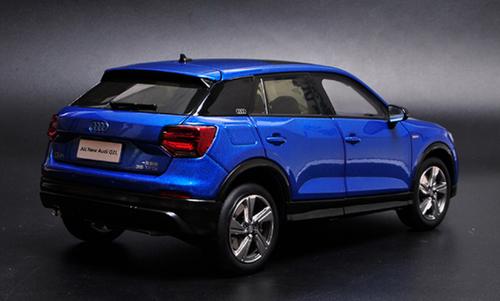 1/18 Dealer Edition Audi Q2 Q2L (Blue) Diecast Car Model