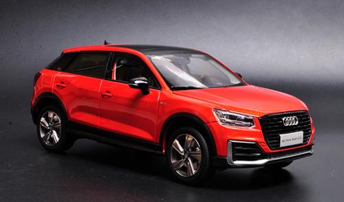 1/18 Dealer Edition Audi Q2 Q2L (Red) Diecast Car Model