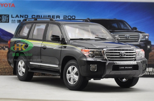 1/18 Dealer Edition Toyota Land Cruiser (Black) Diecast Car Model