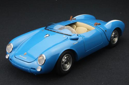 1/18 Schuco Porsche 550 SPYDER (Blue) Diecast Car Model