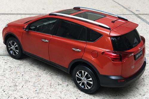 1/18 Dealer Edition 4th generation (XA40; 2012–2018) Toyota RAV4 RAV 4 (Orange) Diecast Car Model