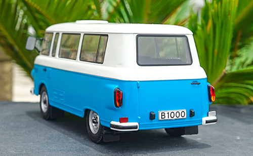 1/18 Model Car Group Barkas B1000 B 1000 (Blue / White) Diecast Car Model