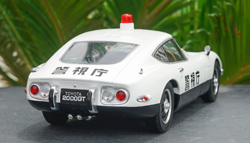 1/18 Triple 9 Triple9 Toyota 2000GT 2000 GT Police Car Diecast Car Model