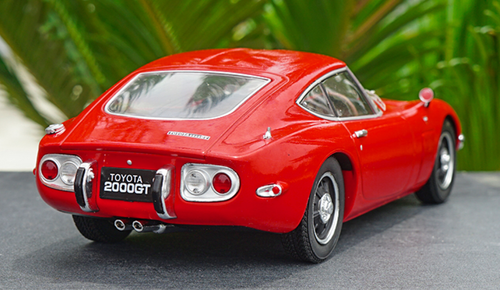 1/18 Triple 9 Triple9 Toyota 2000GT 2000 GT (Red) Diecast Car Model