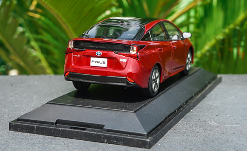 1/30 Dealer Edition Toyota Prius 4th Generation (XW50; 2015-present) (Red) Diecast Car Model