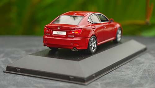 1/43 Jcollection J Collection 2008 Lexus IS IS220d (Red) Diecast Car Model