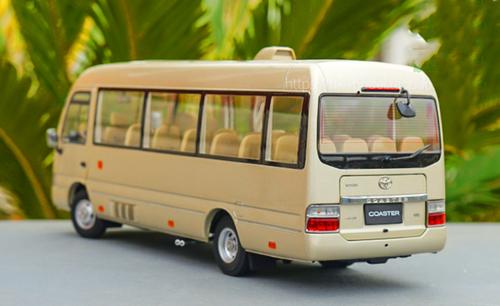 1/24 Dealer Edition Toyota Coaster Diecast Car Model