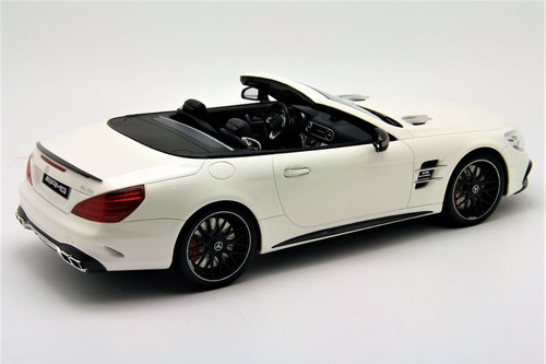 1/18 GT Spirit GTSpirit Mercedes-Benz Mercedes SL63 AMG (White) Resin Car Model