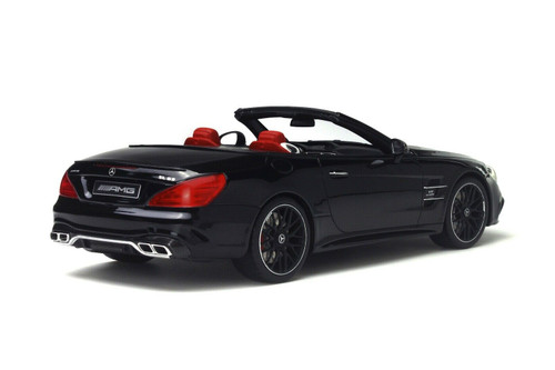 1/18 GT Spirit GTSpirit Mercedes-Benz Mercedes SL63 AMG (Black) Resin Car Model