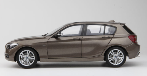 1/18 Paragon BMW 1 Series 120i 125i 1st Generation (E81/E82/E87/E88; 2004–2011) (Brown) Diecast Car Model