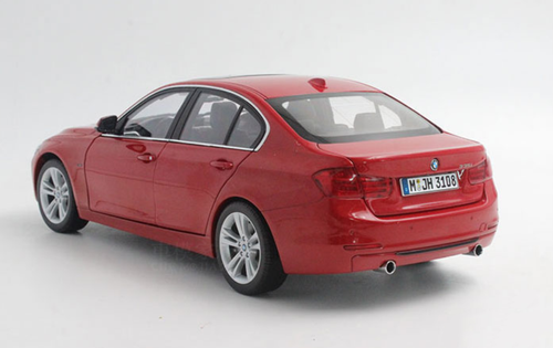 1/18 Paragon BMW F30 3 Series 335i (Red) Diecast Car Model