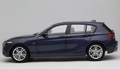 1/18 Paragon BMW 1 Series 120i 125i 1st Generation (E81/E82/E87/E88; 2004–2011) (Blue) Diecast Car Model