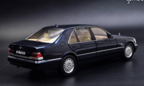 1/18 Norev Mercedes-Benz Mercedes S500 W140 (Dark Blue) Diecast Car Model
