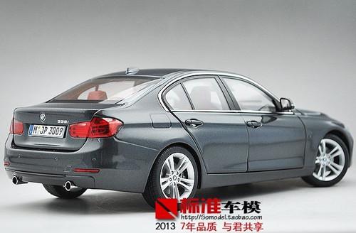 1/18 Paragon BMW F30 335i (Grey) Diecast Car Model