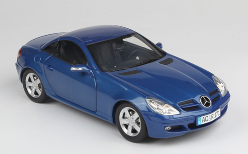 1/18 Minichamps Mercedes-Benz Mercedes SLK-Class SLK-Klasse Convertible (Blue) Diecast Car Model