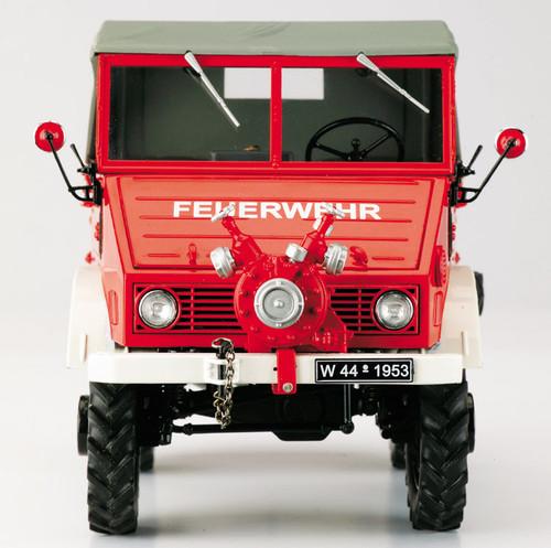 1/18 Schuco Mercedes Benz MB Unimog 401 Feuerwehr Fire Diecast Car Model