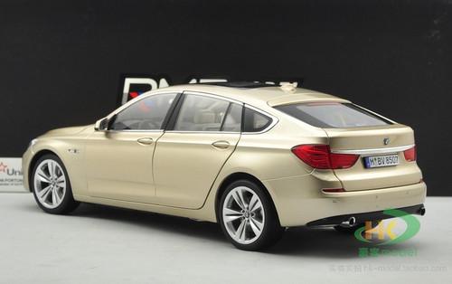 1/18 Dealer Edition BMW 5 Series GT (Golden/Champagne) Diecast Car Model