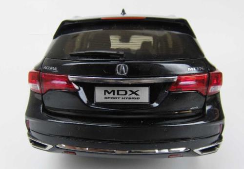 1/18 Dealer Edition 2018 Acura MDX (Black) Diecast Car Model
