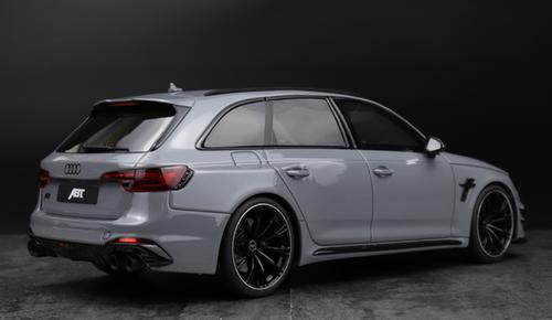 1/18 GT Spirit GTSpirit Audi RS4 ABT (Grey) Resin Car Model