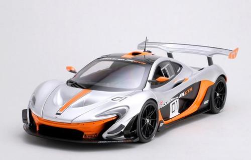 1/18 Almost Real Almostreal McLaren P1 GTR #01 #1 (Silver) Diecast Car Model