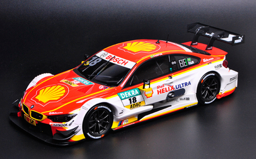1/18 Dealer Edition 2016 BMW F82 M4 DTM Augusto Farfus #18 Diecast Car Model