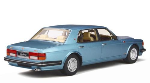 1/18 GT Spirit GTSpirit 1997 Bentley Turbo R Turbo-R (Blue) Resin Car Model Limited