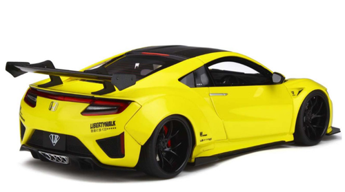 1/18 GT Spirit GTSpirit Acura Honda NSX Liberty Walk LB Wide Body (Yellow) Resin Car Model Limited
