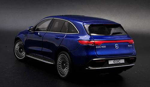 1/18 Dealer Edition Mercedes-Benz Mercedes MB EQC (Blue) Diecast Car Model