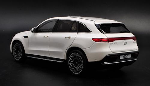1/18 Dealer Edition Mercedes-Benz Mercedes MB EQC (White) Diecast Car Model