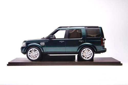 1/18 Motorhelix Land Rover Discovery 4 (Green) Resin Car Model Limited 50
