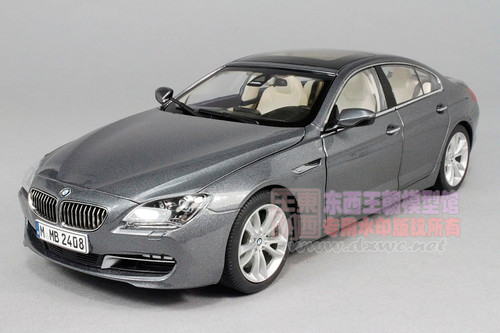 1/18 Paragon BMW 6 Series 650i GranCoupe (Grey) Diecast Car Model