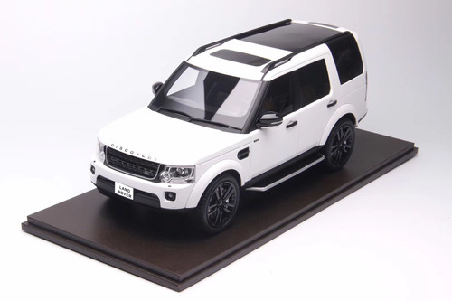 1/18 Motorhelix Land Rover Discovery 4 (White) Resin Car Model Limited 99