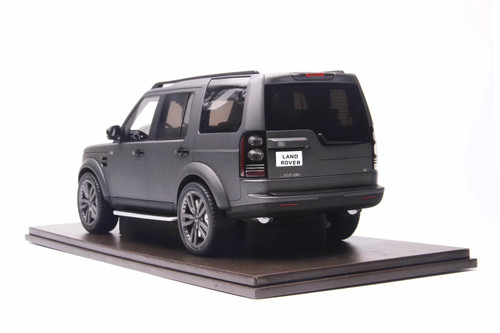 1/18 Motorhelix Land Rover Discovery 4 (Matte Grey) Resin Car Model Limited 50