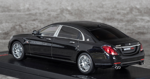 1/43 Almost Real Almostreal Mercedes-Benz Mercedes Maybach Brabus 900 Brabus900 S Class S-Klasse S600 (Black) Car Model