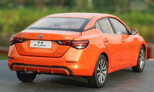 1/18 Dealer Edition Nissan Bluebird Sylphy / Pulsar / Sentra (Orange) Diecast Car Model