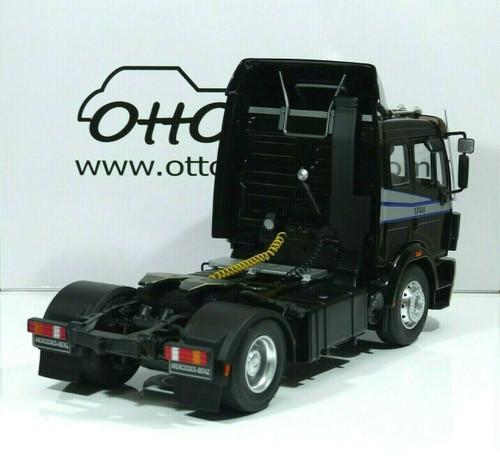 1/18 OTTO Mercedes-Benz Mercedes SK 1748 1990 Tractor (Black) Resin Car Model