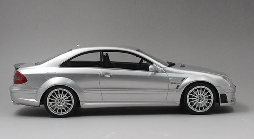 1/18 OTTO Mercedes-Benz Mercedes CLK CLK63 AMG Coupe Black Series (Silver) Resin Car Model Limited