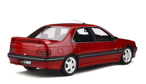 1/18 OTTO 1993 Peugeot 405 Mi16 Le Mans (Red) Resin Car Model Limited