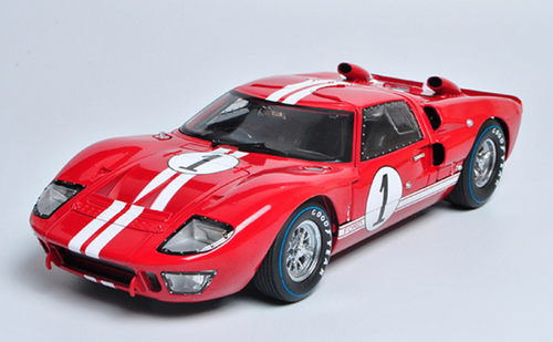 1/18 Dealer Edition Ford GT-40 GT40 MK II MKII #1 (Red) Diecast Car Model
