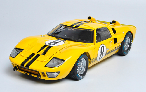 1/18 Dealer Edition Ford GT-40 GT40 MK II MKII #1 (Yellow) Diecast Car Model